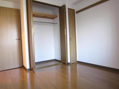 洋室はクローゼットです。