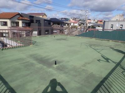 【バルコニー】多井畑貸家