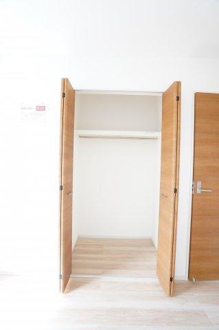 【同仕様施工例】お部屋を使わない場合は収納室として利用してもいいですね。