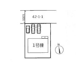 【区画図】神戸市垂水区つつじが丘2丁目2期 新築一戸建て 1区画分譲