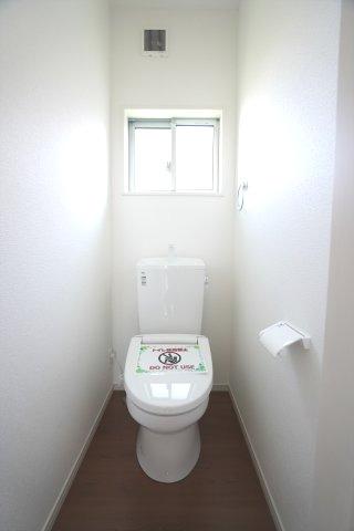 2階 トイレです。