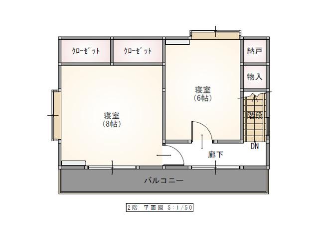 1階洋室8帖、エアコン全部屋新品☆