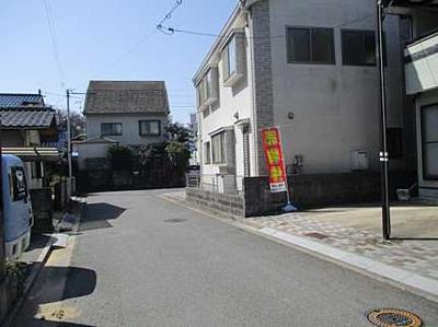 【前面道路含む現地写真】広島市佐伯区八幡東3丁目