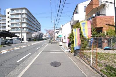 【前面道路含む現地写真】堺市堺区五条通 土地