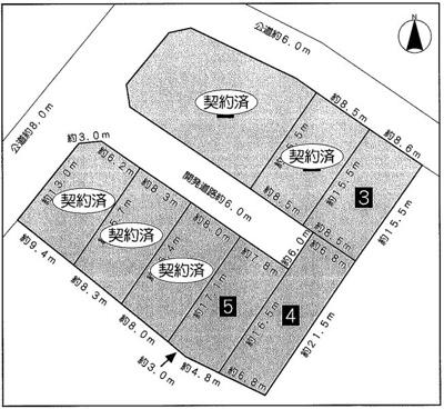 【外観】名東区西里町5丁目 8区画