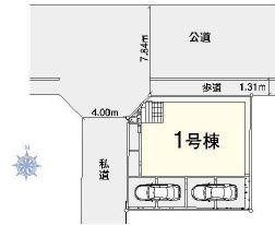 【区画図】大宮区櫛引町第2