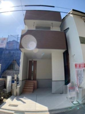 【外観】大阪市生野区勝山北1丁目 新築戸建