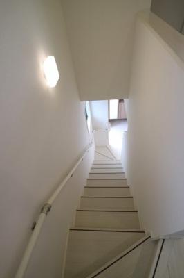 手すり付き階段♪