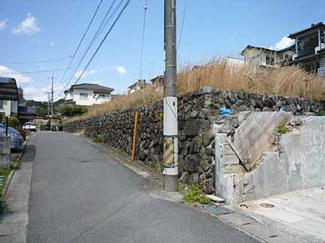 【前面道路含む現地写真】広島市安佐北区可部東6丁目 新建
