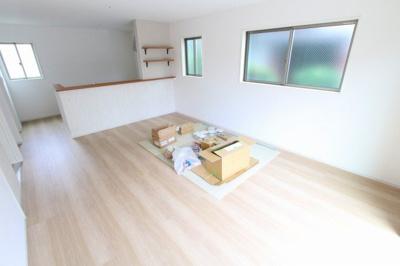 ゆったり過ごせるリビングです:建物完成しました♪♪毎週末オープンハウス開催♪三郷新築ナビで検索♪