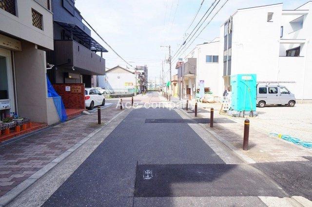 【前道広々!幅員約8m☆】道路突き当りは「平野中学校」です♪