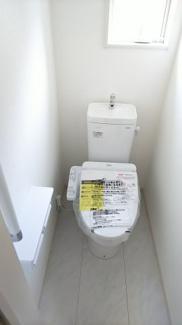 ウォシュレット付きトイレ施工例です。