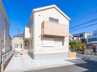 習志野市香澄 新築一戸建て ※令和3年3月現地写真です。