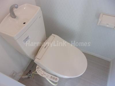 グランドセダー大久保のコンパクトで使いやすいトイレです