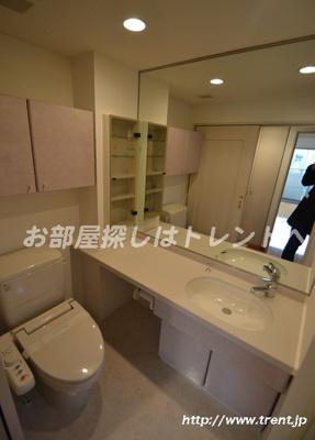 【洗面所】コンシェリアR四谷