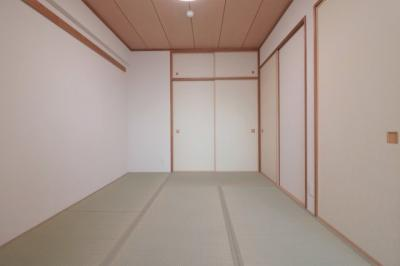 明るい和室です