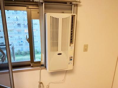 エアコンがあります。