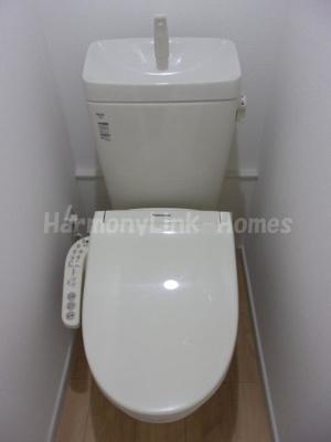 ソフィアパピヨンのトイレもきれいです