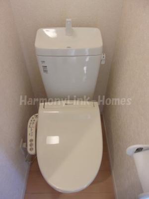 ソフィアプリマの清潔感のあるトイレです