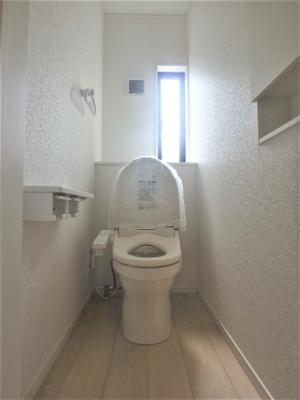 【トイレ】クレレイドルガーデン 新築戸建て 館林市当郷町第2-全2棟-