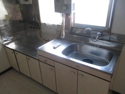 【キッチン】玉城貸家