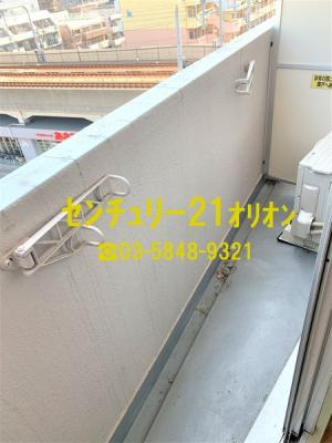 【バルコニー】APEX(アペックス)中村橋