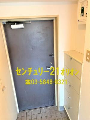 【玄関】APEX(アペックス)中村橋