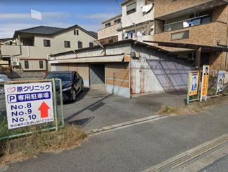 【外観】城南前川紙店シャッター付きガレージ