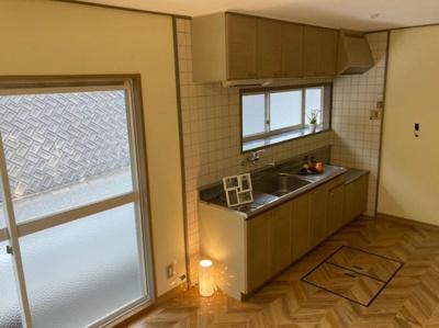 【キッチン】鳥取市滝山戸建て