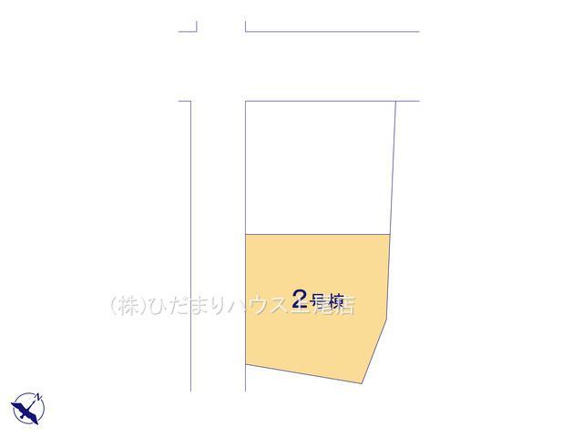 【区画図】桶川市北1丁目 新築一戸建て ハートフルタウン 02