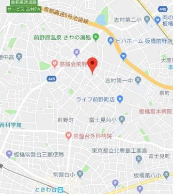 【地図】シエル前野町