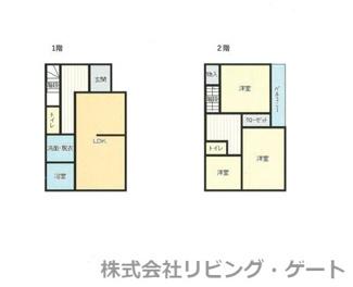 内外装綺麗な3LDK トイレ2か所あります。リフォームで大変綺麗なご住宅になりました。