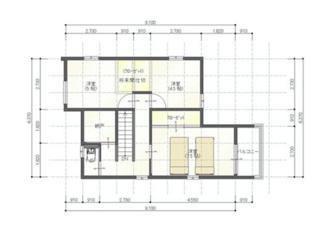 【間取り】高崎市八千代町2丁目 新築戸建