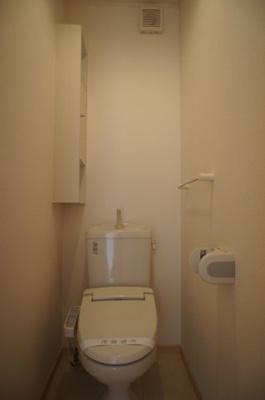【トイレ】プラッツ渡里C