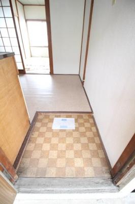 【玄関】倉富荘