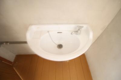 【独立洗面台】倉富荘