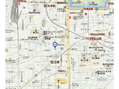 【地図】亀田ビル・
