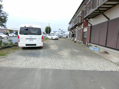 【駐車場】フライトハイツ