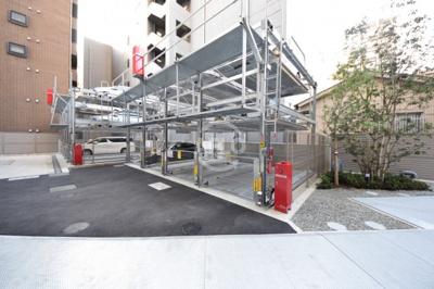グランドメゾン上町台レジデンスタワー 敷地内駐車場