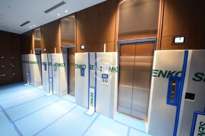 グランドメゾン上町台レジデンスタワー エレベーターホール