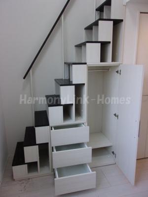 stage五反野の収納付き階段☆