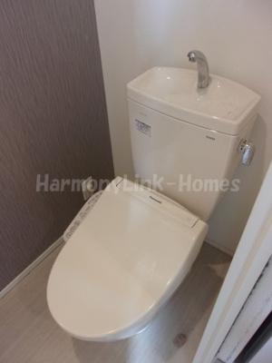 レジデンスY・Mのコンパクトで使いやすいトイレです☆