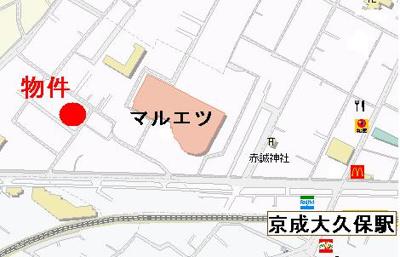 【地図】ディアコート