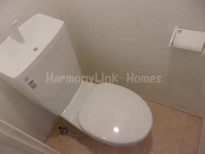 レクラン五反野のコンパクトで使いやすいトイレです