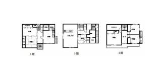 松山市 食場 中古住宅 61.70坪