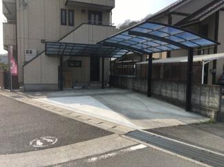 【駐車場】松山市 食場 中古住宅 61.70坪
