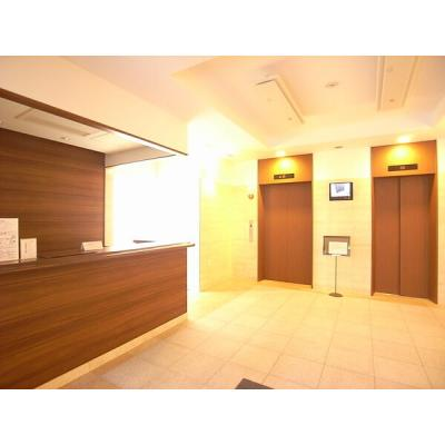 【ロビー】KDXレジデンス東桜I ★ロールスクリーン設置部屋ございます。