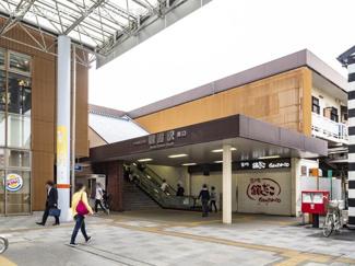 東武東上線「朝霞」駅 距離640m
