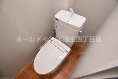 【トイレ】スリーハイツ