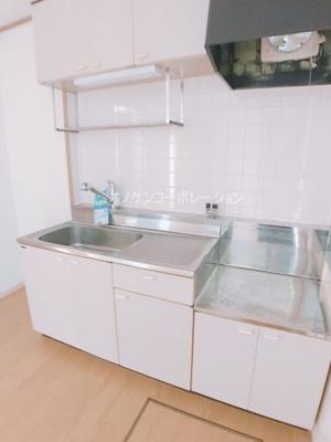 【キッチン】サンクレールⅡ